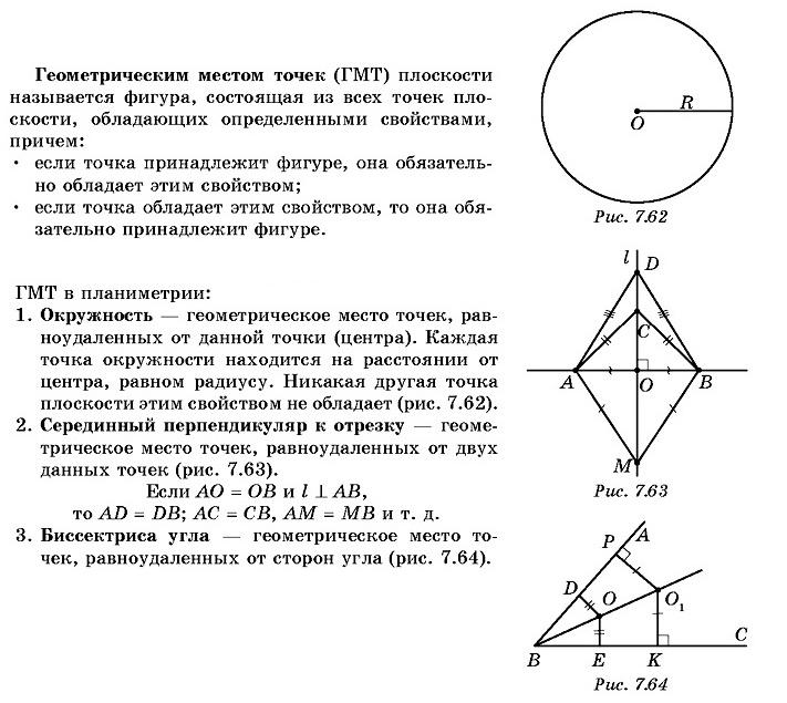 7.1. Геометрические фигуры и их свойства
