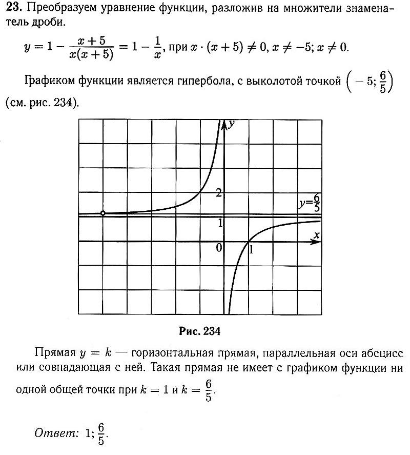 ОГЭ Математика. Тренировочный вариант 1